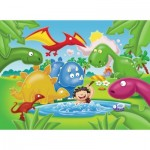 My First Outdoor Puzzles - Dinosaurier Freunde