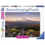 Puzzle   Stratovulkan Mount Hood in Oregon, USA
