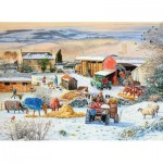 Puzzle   Winter on the Farm