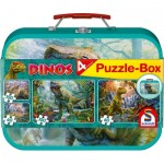 4 Puzzles - Dinosaurier