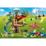 Puzzle  Schmidt-Spiele-56403 Farm World Happy Dogs