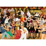 Puzzle   Beryl Cook - Partynacht