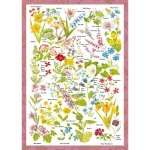 Puzzle   Countryside Art - Wildblumen