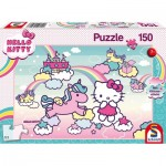 Kitty Glitter Puzzle, Kitty's Unicorn