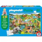 Puzzle   Playmobil Zoo