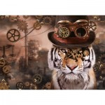 Puzzle   Steampunk Tiger