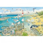 Puzzle   Tiere am Meer