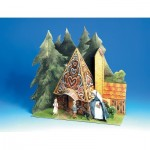 Kartonmodelbau: Hansel and Gretel