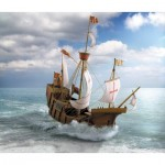 Puzzle   Kartonmodelbau: The Columbus Ship Santa Maria