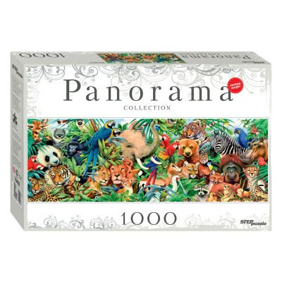 Puzzle Step-Puzzle-79402 World of Animals