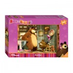 Puzzle  Step-Puzzle-96020 Masha and the Bear