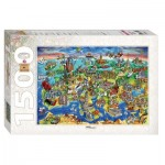 Puzzle   Attractions of Europe