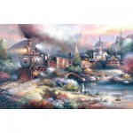 Puzzle  Sunsout-18014 James Lee - Maryland Mountain Express