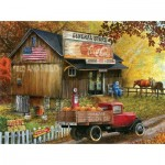 Puzzle  Sunsout-28624 XXL Teile - Seed and Feed General Store