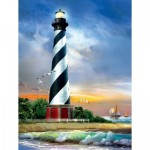 Puzzle  Sunsout-28835 XXL Teile - Cape Hatteras Lighthouse