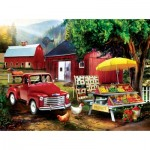 Puzzle  Sunsout-28872 Tom Wood - Country Producea