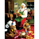 Puzzle  Sunsout-32138 XXL Teile - Bearly Christmas