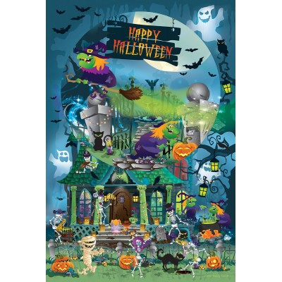 Puzzle Sunsout-32206 XXL Teile - Legacy Tree - Trick or Treat for All Ages