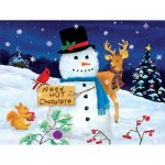 Puzzle  Sunsout-32716 XXL Teile - Kathy Kehoe bambeck - Need Hot Chocolate