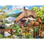 Puzzle  Sunsout-35006 XXL Teile - Luck of the Irish