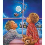 Puzzle  Sunsout-35820 XXL Teile - There He Goes