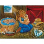 Puzzle  Sunsout-35824 XXL Teile - Love at First Sight