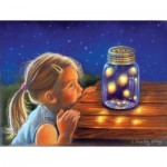 Puzzle  Sunsout-35887 XXL Teile - Magical Fireflies