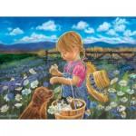 Puzzle  Sunsout-35924 XXL Teile - Tricia Reilly-Matthews - Country Girl