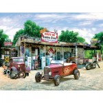Puzzle  Sunsout-37179 XXL Teile - Route 66 General Store