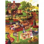Puzzle  Sunsout-38872 XXL Teile - Mary's Quilt Country