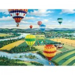 Puzzle  Sunsout-39488 XXL Teile - Ballooner's Rally