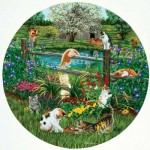 Puzzle  Sunsout-45876 XXL Teile - Cats at Play