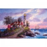Puzzle  Sunsout-48377 Dennis Lewan - Captain's Cove