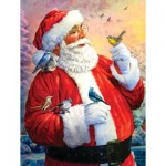 Puzzle  Sunsout-50734 XXL Teile - Santa's Morning Meeting