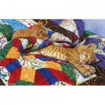 Puzzle  Sunsout-52397 Jeanette Fournier - The Easy Life