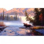 Puzzle  Sunsout-53058 Mark Keathley - Into the Mist