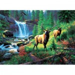 Puzzle  Sunsout-53082 Mark Keathley - Mountain Harmony