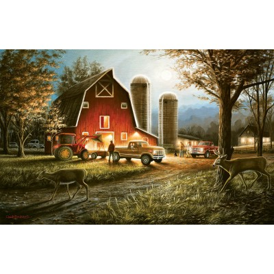 Puzzle Sunsout-55193 Chuck Black - Harvest Nights