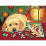 Sunsout-59406 XXL Teile - A Puzzle for Christmas