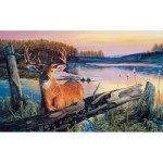 Puzzle  Sunsout-60841 XXL Teile - By Dawn's Early Light