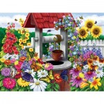 Puzzle  Sunsout-62904 XXL Teile - Wishing for Butterflies