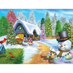 Puzzle  Sunsout-66578 XXL Teile - Tis the Season