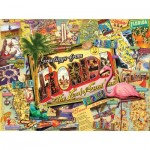 Puzzle  Sunsout-70021 Ward Thacker Studio - Florida