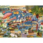 Puzzle  Sunsout-70029 Ward Thacker Studio - South Carolina