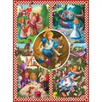 Puzzle  Sunsout-75280 Mark Brill - Alice in Wonderland