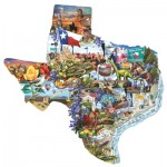 Puzzle  Sunsout-95373 Lori Schory - Welcome to Texas!