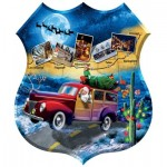 Puzzle  Sunsout-95808 XXL Teile - Jim Todd - Santa's Highway