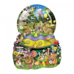 Puzzle  Sunsout-95920 XXL Teile - Lori Schory - Easter Globe