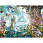 Puzzle   Adrian Chesterman - Fairies at the Falls