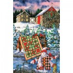 Puzzle   Diane Phalen - A Christmas Cheer Quilt